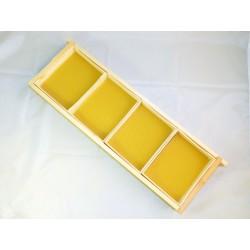 Sekciju rāmītis šūnu medus ražošanai 1x4